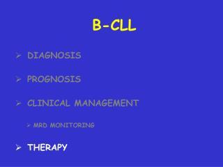 B-CLL