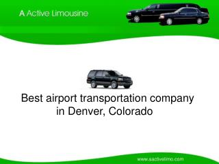 Airport Transportation Services in Denver