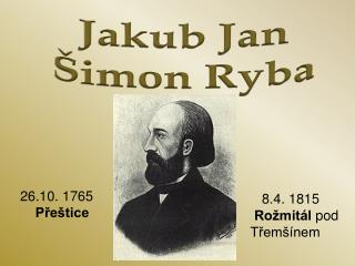 Jakub Jan Šimon Ryba
