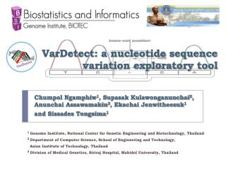 VarDetect: a nucleotide sequence variation exploratory tool