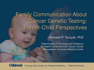 Family Communication About Cancer Genetic Testing: Parent-Child Perspectives