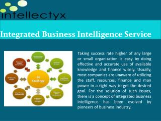 Explore about Effective Business Intelligence  Service