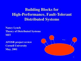 Building Blocks for                        High-Performance, Fault-Tolerant Distributed Systems