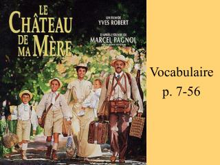 Vocabulaire p. 7-56