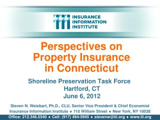 Perspectives on Property Insurance in Connecticut