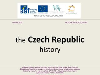 the Czech Republic history
