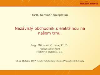 XVII. Seminář energetiků