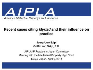 Recent cases citing  Myriad  and their influence on practice