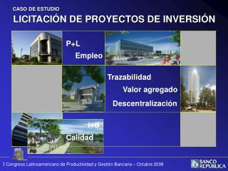 LICITACIÓN DE PROYECTOS DE INVERSIÓN