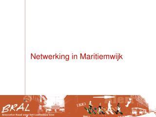 Netwerking in Maritiemwijk