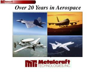 Aerospace Manufacturing Capabilities Briefing to Dr. Carl Chen