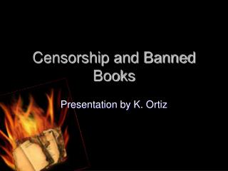 Censorship and Banned Books
