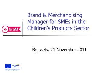 Brand & Merchandising Manager for SMEs in the Children's Products Sector