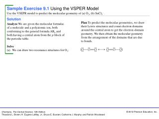 Sample Exercise 9.1 Using the VSPER Model