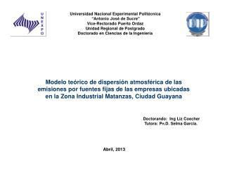 """Universidad Nacional Experimental Politécnica  """" Antonio José de Sucre"""""""