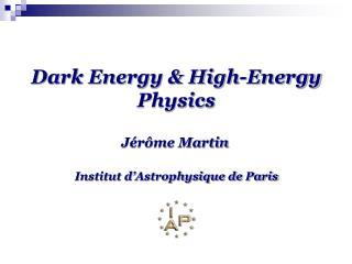 Dark Energy & High-Energy Physics