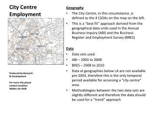 City Centre Employment