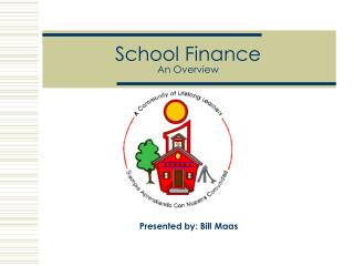 School Finance  An Overview