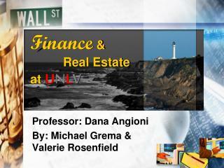 Finance  &  Real Estate  at  U N L V