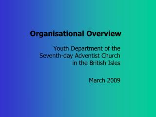 Organisational Overview