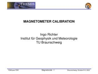 MAGNETOMETER CALIBRATION