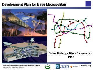 Baku Metropolitan Extension Plan