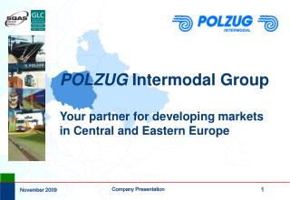 POLZUG  Intermodal Group Your partner for developing markets in Central and Eastern Europe