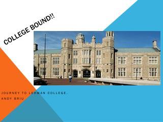 College Bound!!