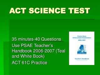 ACT SCIENCE TEST