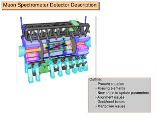 Muon Spectrometer Detector Description
