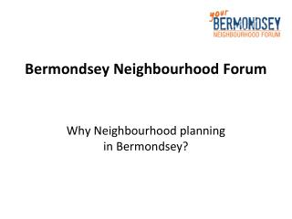Bermondsey Neighbourhood Forum