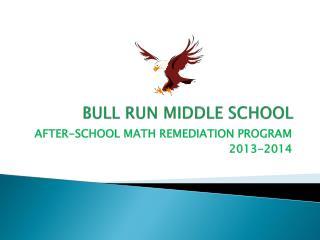 BULL RUN MIDDLE SCHOOL
