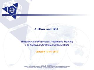 Airflow and BSC