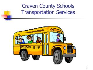 Craven County Schools Transportation Services