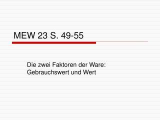 MEW 23 S. 49-55