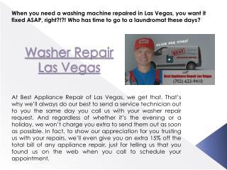 Oven Repair Las Vegas