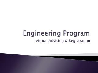 Engineering Program