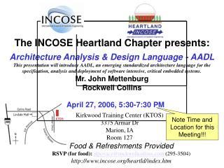 Architecture Analysis & Design Language - AADL