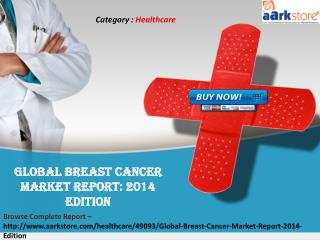 Aarkstore.com - Global Breast Cancer Market Report: 2014
