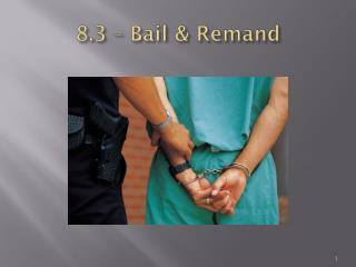 8.3 – Bail & Remand