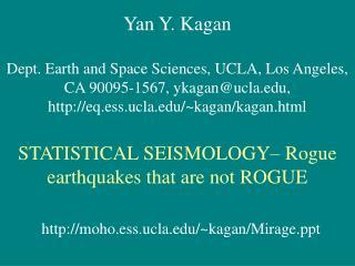 Yan Y. Kagan