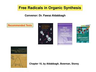 Free Radicals in Organic Synthesis