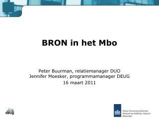 BRON in het Mbo