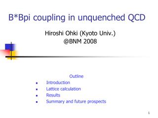 B*Bpi coupling in unquenched QCD