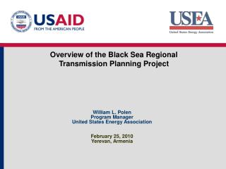 Overview of the Black  Sea Regional Transmission Planning Project