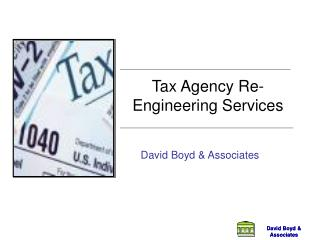 Tax Agency Re-Engineering Services