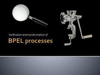 BPEL  processes
