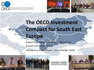 The OECD Investment Compact for South East Europe