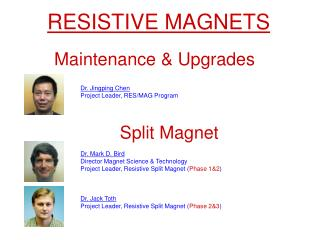 RESISTIVE MAGNETS