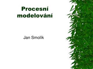 Procesní modelování